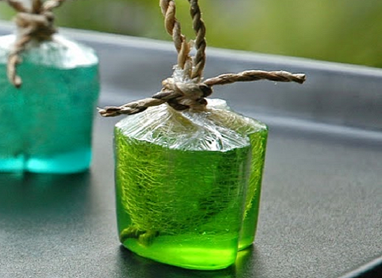 how to make transparent glycerin colorful soap